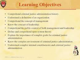 Criminal Justice Definition Criminal Justice Organizations Administration And Management Ppt