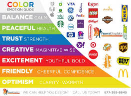 Marketing Color Chart The Emotion Of Color In Marketing Power Graphics Digital