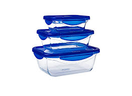 storage containers uk designs set pyrex cook go 3 glass rectangular dishes with lids