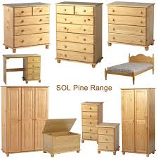 Pine Furniture Bedroom Sol Pine Bedroom Furniture Ebay