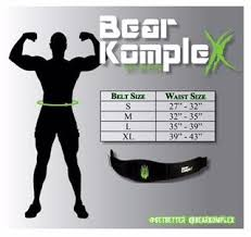 Bear Komplex Grips Size Chart Sizing Charts Bear Komplex