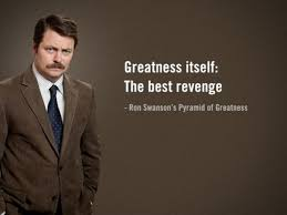 Ron Swanson Chart Of Manliness Ron Swanson Chart Of Manliness Ron Swanson Inspired