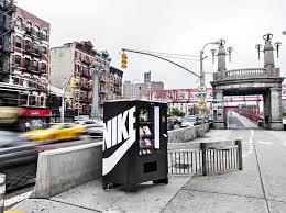 Vending Machines In New York Custom Nike Fuel Vending Machine In New York Pursuitist