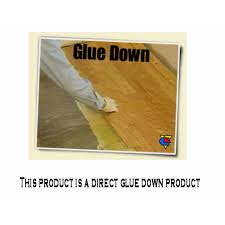 glue down vinyl plank
