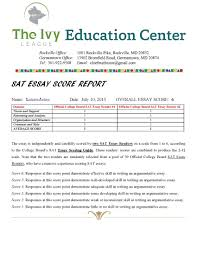 sample sat essay sat essay examples images org sat essay scoring and feedback ivy league education center view larger