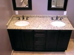 Granite Bathroom Vanity Tops Bath Double Sink Beautifully Idea