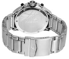 fastrack chronograph nd3072sm03 men s watch buy fastrack this fastrack stainless steel watch for men has a classy design and finish it features three sub dials metallic skeletal needles