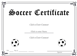 Free Soccer Certificate Templates 13 Soccer Award Certificate Examples Pdf Psd Ai