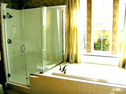 how to remove hard water stains from shower door best way glass doors off and clean