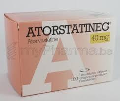 Bijwerkingen atorvastatine 10 mg
