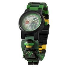 <b>LEGO</b>: <b>Часы</b> наручные аналоговые <b>Ninjago Movie</b> с минифигурой ...