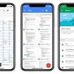 Google Updates Docs, Sheets, and Slides Apps with 'Drag and Drop' and iPhone X Support
