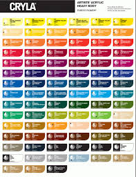 25 Prototypical Deco Art Americana Acrylic Paint Chart