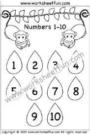 Preschool Number Chart 1 10 Number Chart 1 10 Free Printable Worksheets Worksheetfun