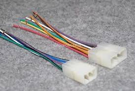mitsubishi radio wiring harness adapter for aftermarket radio Wire Harness Assembly at North American Wire And Harness Expo