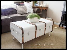 Antique Trunk Coffee Table White Old Home Decorations Slate Vintage Trunks  And Chests Unfinished Wood Luggage End Cube Wicker Basket Small Chest Side  Large ...