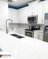 photo of sanford granite sanford fl united states white quartz countertop with