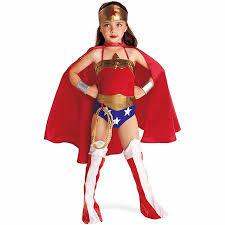 Girls Wonder Woman Halloween Costume Walmart Com
