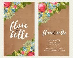 Paper Flower Business Kraft Paper Flowers Business Card Design By Crookedlittlepixel