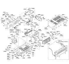 Onkyo model ht r990 receivers genuine parts