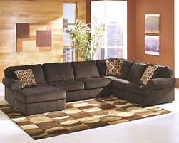 ashley furniture sectional couches. Large Vista 3-Piece Sectional, Chocolate, Rollover Ashley Furniture Sectional Couches HomeStore