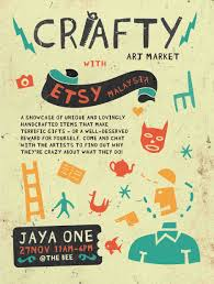 Crafty Crafty Art Market With Etsy Malaysia Etsy Malaysia Local Team Blog