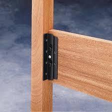 surface mounted keyhole bed rail brackets 90 bracket