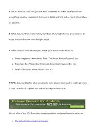 informative speech essay topics
