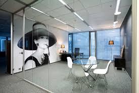 modern office interior. Frameless Glass Partitions Modern Office Interior R