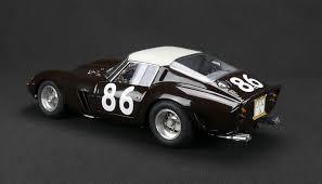 1962 ferrari 250 gto black. cmc ferrari 250 gto, targa florio 1962 #86 gto black