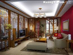 _07 Picture of Chinese living room decoration decoration picture