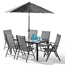 Santorini <b>8 Piece Garden</b> and Patio Set - New 2018 Model with 100 ...