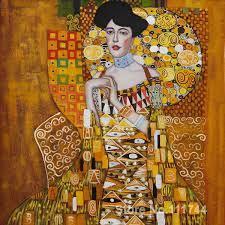 Gold gemälde Porträt von Adele Bloch Bauer Ich Gustav Klimt berühmte kunst  Hohe Qualität Handgemachten|painting periods|painting fine artart cute -  AliExpress