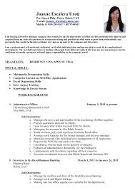 Office Boy Resume Format Sample (3)
