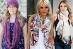 Модные шарф в этом сезоне