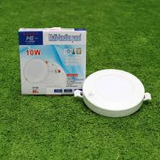 Đèn LED âm trần 10w, ốp nổi 10w ánh sáng trắng đa năng siêu sáng - Led  Hoàng Gia