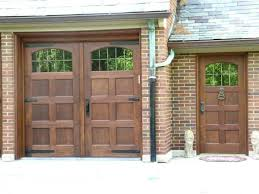 garage door with entry doorCustom Wood Garage Doors