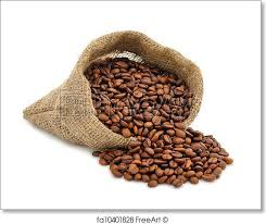 coffee beans bag. Contemporary Coffee Free Art Print Of Coffee Beans In A Bag With Beans Bag H