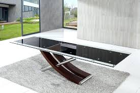 expandable glass dining table collection in large tables wood and ikea glivarp extendable