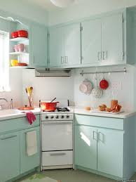 Retro Kitchen Decor Ideas For Designing Cupboard Blue And Red Deluxe Home Design