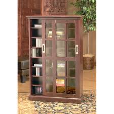 bookcase with glass doors and lock designs