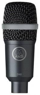 Универсальный <b>инструментальный микрофон AKG</b> D40 купить в ...
