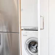 space saver washer and dryer. Unique Saver KItchen Cabinet With Stacked Washer And Dryer In Space Saver And