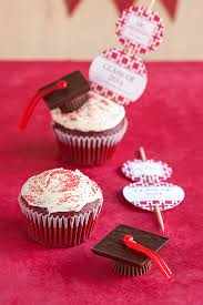 Graduation Idea Cupcake Toppers Party Inspiration