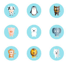 Animal Icon Cute Animal Compilation 16 Free Icons Svg Eps Psd Png Files