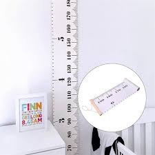 Wooden Wall Hanging Baby Child Kids Growth Chart Height Measure Ruler Wall Sticker For Kids Children Room Home Decoration Canada 2019 From Tanguimei