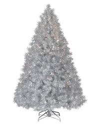 Treetopia - Silver Stardust Tinsel Artificial Christmas Tree #Stardust  #TinselTree. rollover to zoom in