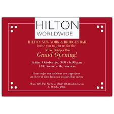 Grand Opening Invitations Dotted Corner Logo Red Grand Opening Invitations