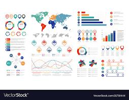 Chart Presentation Images Flat Infographic Elements Presentation Chart