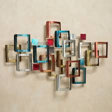 retro modo metal wall sculpture multi jewel touch to zoom